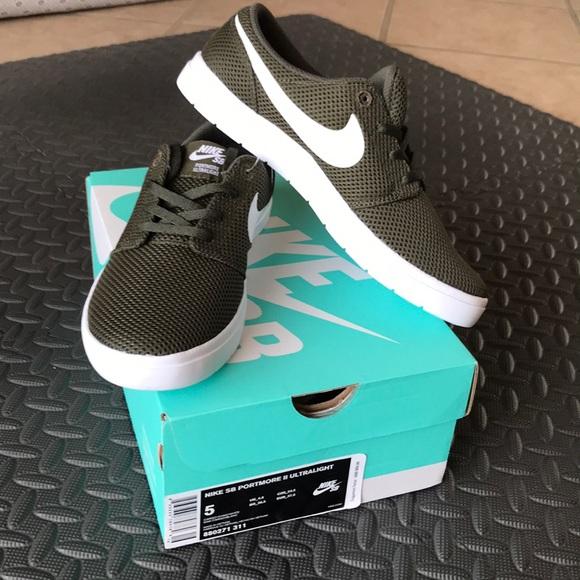 Olive Green Nike SB Portmore II Ultralight. M 5a52b3d831a376755c001ce1 32aacdbb7